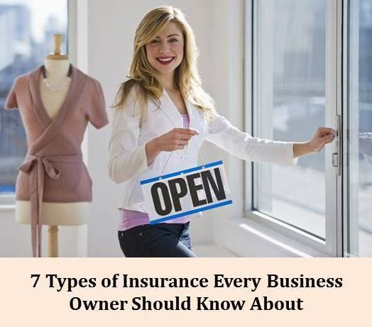 7 Types Of Insurance Every Business Should Know About